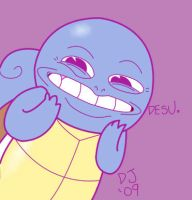 Squirtle is Cool by dustindemon