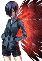 Tokyo Ghoul by famepeera