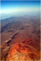 High Above the Western Deserts by magikfoto
