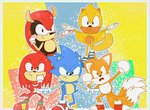 Together we are.. THE SONIC FORCE by SupremeKhi