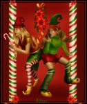 Christmas elves by Adaae