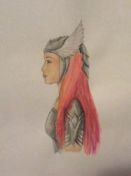 The Red Haired Warrior by FantasyArt99