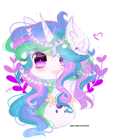 Clestian-MLP Canon in my style. by MagicAngelStarArtist