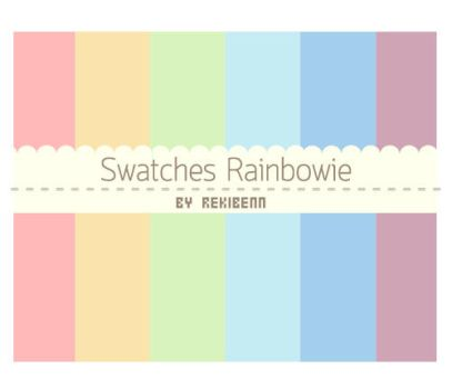 Swatches Rainbowie by TheSeekerReki