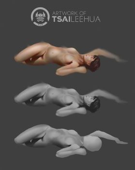 Gesture/Color Study by tsaileehua