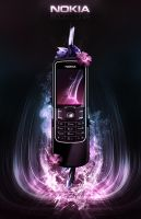Nokia 8600 Luna Advertisement. by Uribaani