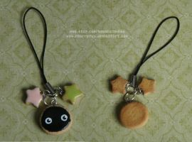 Soot Sprite Cookie Charm- Spirited Away by xoxRufus