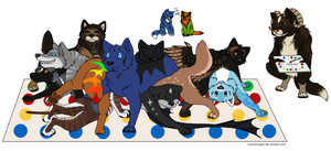 Wolf Haven Staff Twister by crazylunagirl