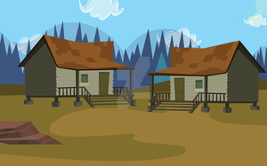 Total Drama Camp Season 5 Cabins by RealTDILola