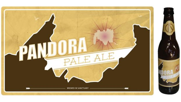 Borderlands 2 Beer Label Pandora Pale Ale by filly4585