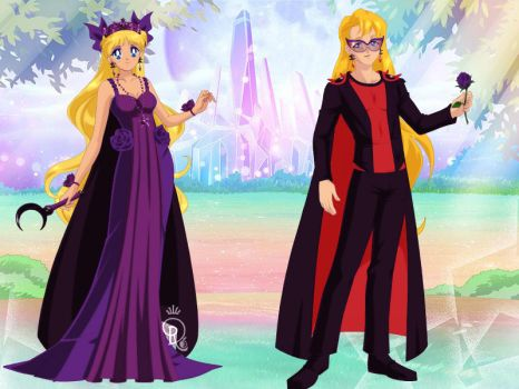 Queen Ino and King Deidara of the Kingdom of Konoh by Bluediamondpikachu83