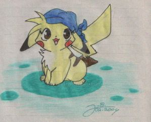 Pika-Janina - Old Art 2004 by JB-Pawstep