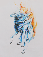 SOLID FLAME by VZdrawART