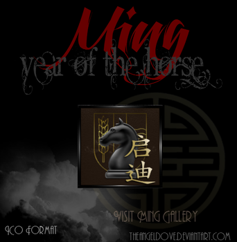 Ming Year Of The Horse Icon by TheAngeldove