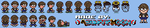 [Custom/Gift] Nessome - Mother 2/EB Sprites Sheet by AsuharaMoon