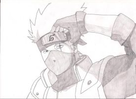 Kakashis Sharingan by Sizzlac