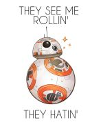 BB-8 on the road again by pinkwater1211