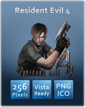 Resident Evil 4 Icon by UltimateAoshi