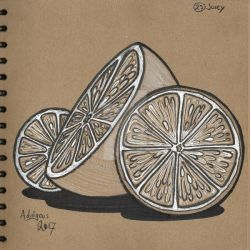 Inktober Day 23 Juicy by Adalgeuse