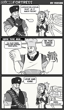 OverFortress:  Sandwich with care! by MIXSAN