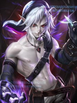 Dark Link.I like em shirless. by sakimichan