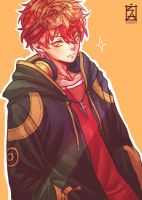 Mystic Messenger: 707 by Soverrein