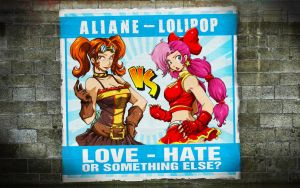LOVE HATE by bujonas