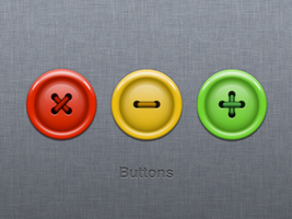 Button icons by wakaba556