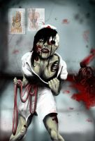 Return of the Zombie Nurse by cannibalgnome