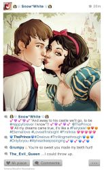Selfie Fables | Snow White by SimonaBonafiniDA