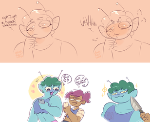 ok ko doodles by dongoverlord