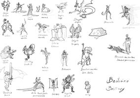 Bestiary by Rhesyuzz