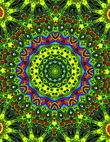 Bright Psychedelic by LindenRose