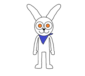 Fred The Bunny by meatpie2259