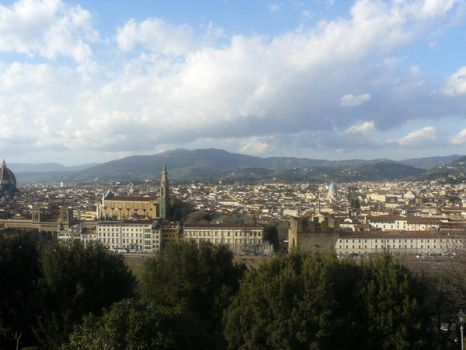 Florence view by Horimono