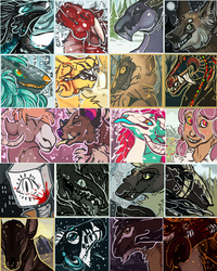 Simple Icons Batch 2 by Stitchy-Face