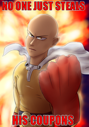 Saitama's coupons by 8eternal-paradox8
