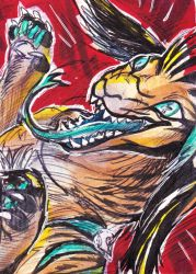 ACEO Veyx by ADrawingSheep