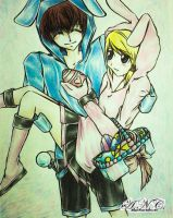 Happy Easter 2013!! :D by HaruXHaru