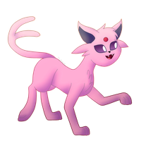 Espeon by TheKittyKatUnion