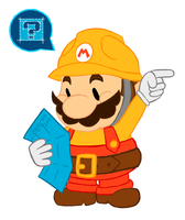 That one to the left! (Super Mario Maker) by Chalecus