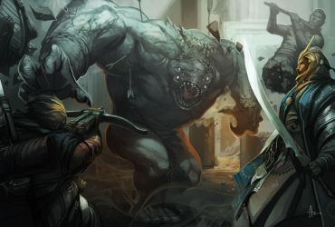Grey Render Fight by nJoo