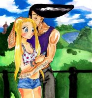 a date in a park by nanako87