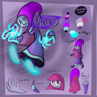 HL Contestant Reference - Mary Plotos by GenoTheCreeper