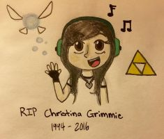 RIP Christina Grimmie by MrGelo97