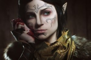 Merrill 3 - Dragon Age II cosplay by LuckyStrikeCosplay