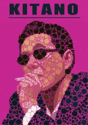 Takeshi Kitano by Animally