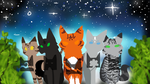 Warrior Cats Five Giants Thumbnail Contest by StarGazingHipster