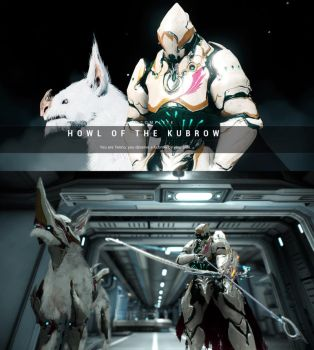 Warframe Kubrow D.D by JWBeyond