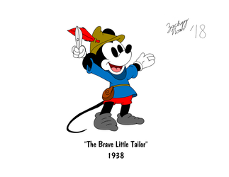 Mickey's 90th Birthday - The Brave Little Tailor by ZacharyNoah92